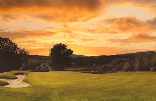 Crieff-Hydro-Golf-Sunset