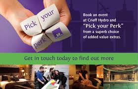 Crieff Hydro - Pick Your Perk