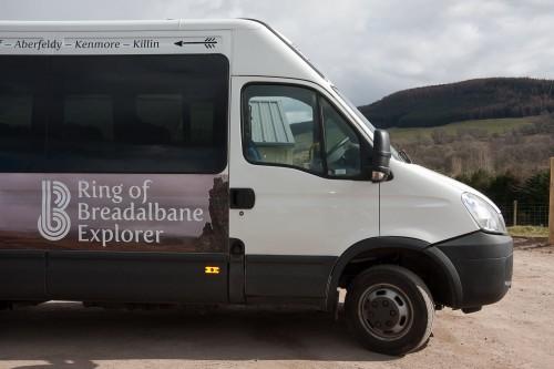 Ring of Breadalbane Explorer bus
